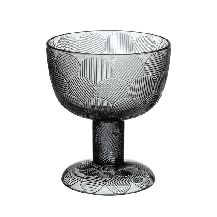 Miranda bowl on foot 145 mm from Iittala in grey