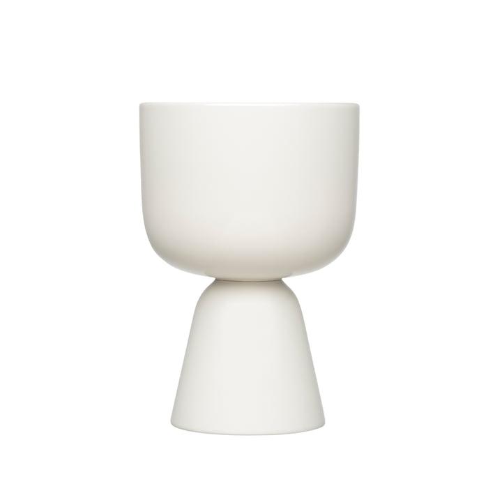 Nappula flowerpot 230 x 155 mm from Iittala in white