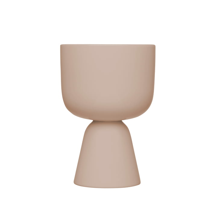 Nappula flowerpot 230 x 155 mm from Iittala in beige