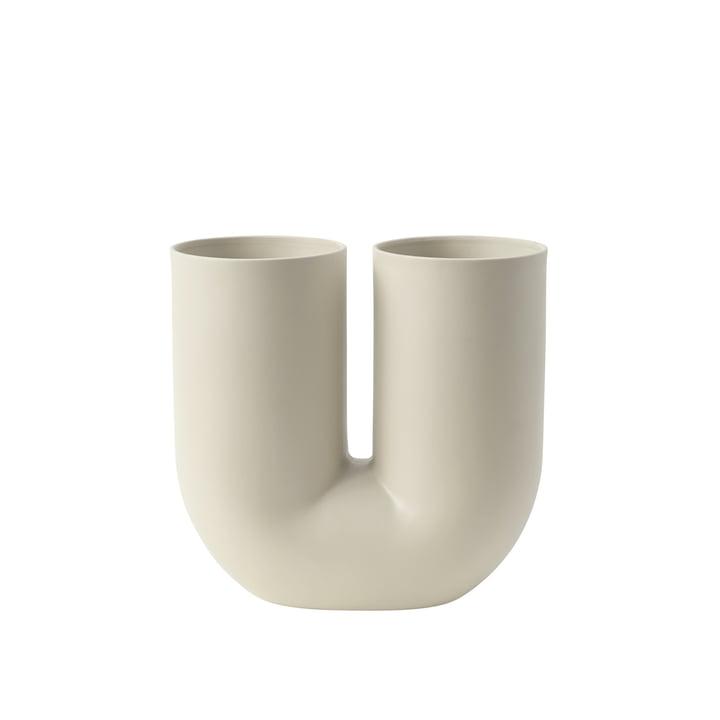 Kink Vase by Muuto in Sand