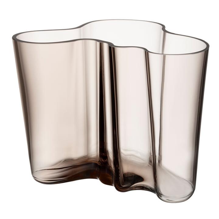 Aalto Vase Savoy 160 mm from Iittala in linen