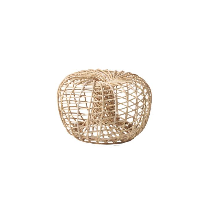 Nest Indoor stool Ø 65 cm, natural from Cane-line