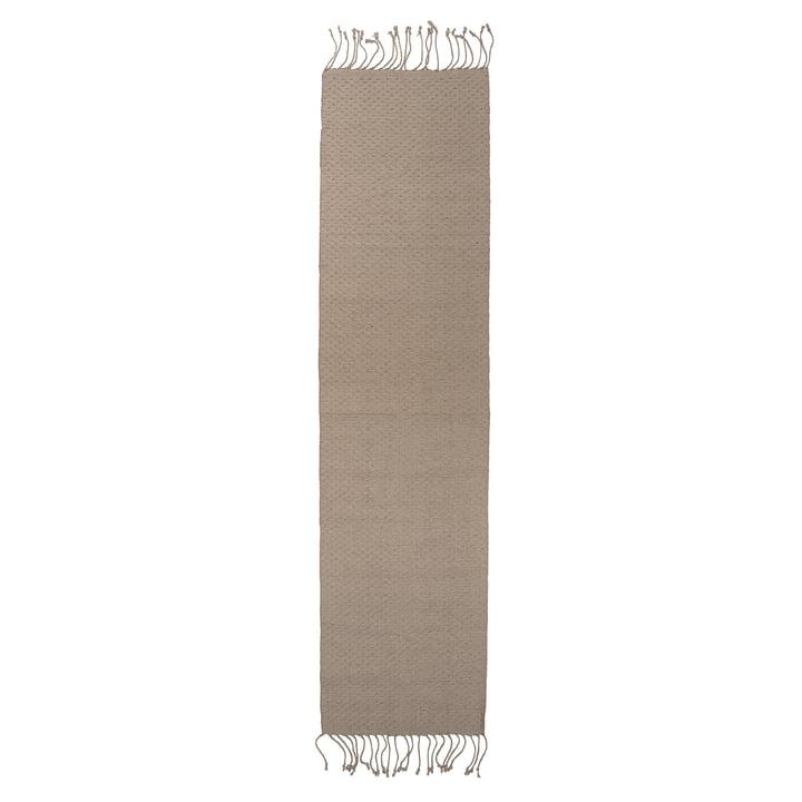 Natural fibre carpet 280 x 70 cm from Bloomingville in jute