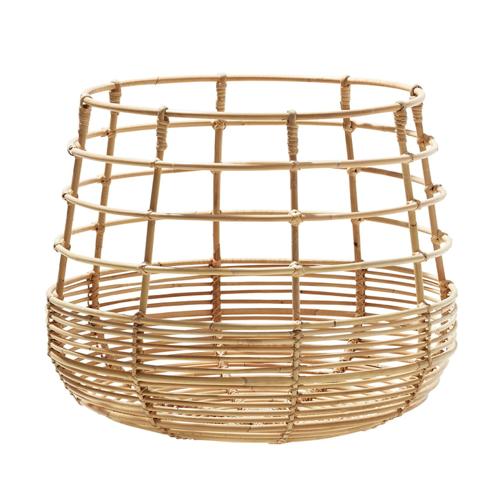 Sweep basket round Ø 43 cm, natural from Cane-line