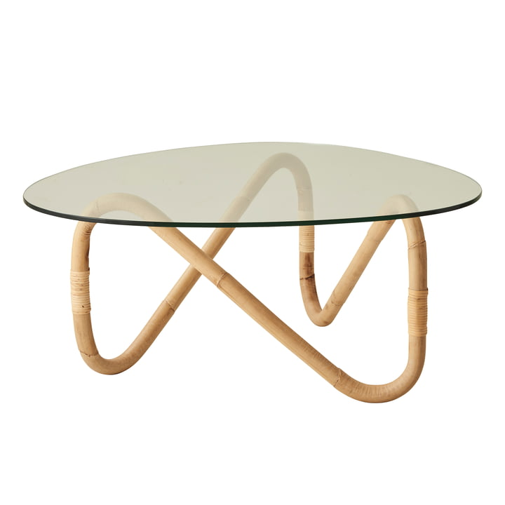 Wave Coffee table, natural from Cane-line