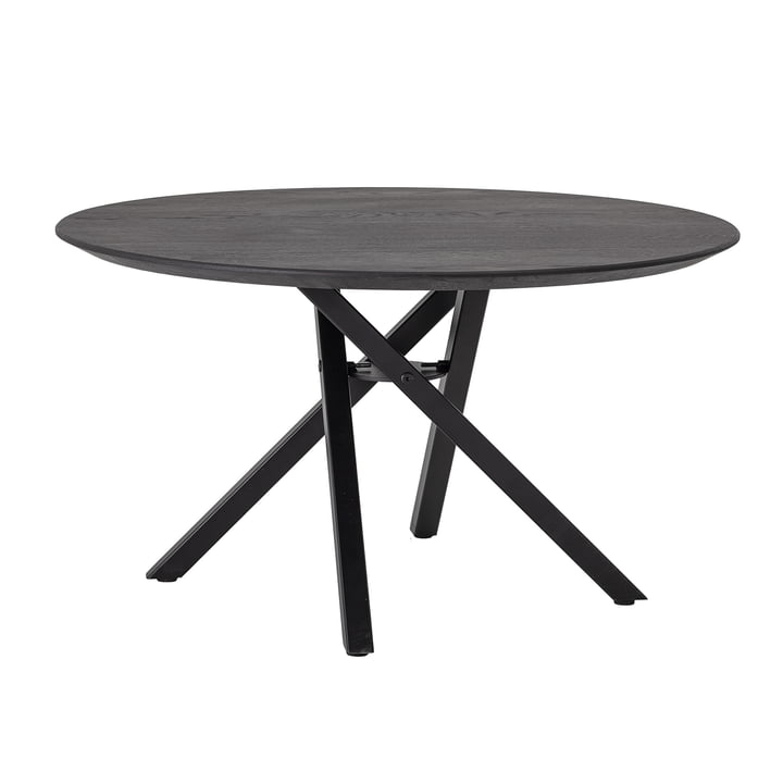 Connor coffee table Ø 80 x H 44 cm from Bloomingville in black