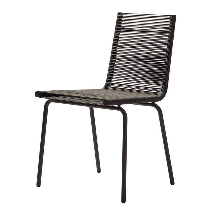 Sidd Chair, brown from Cane-line