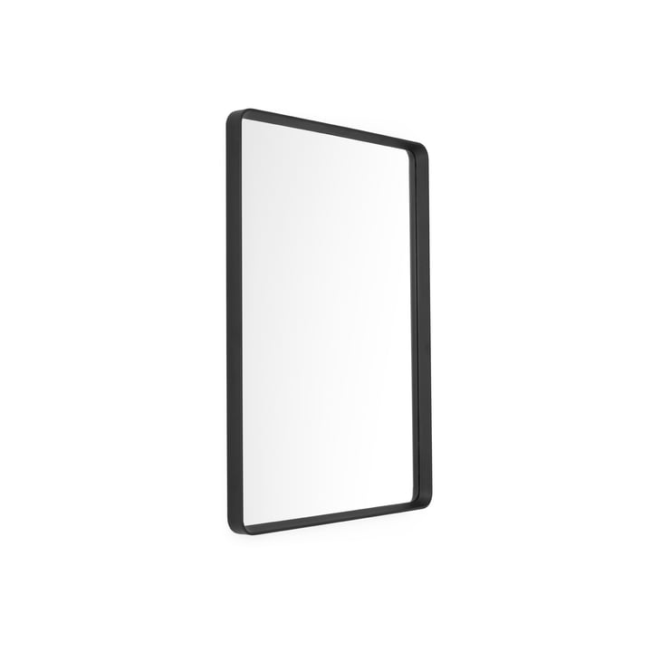 Norm wall mirror, black from Menu