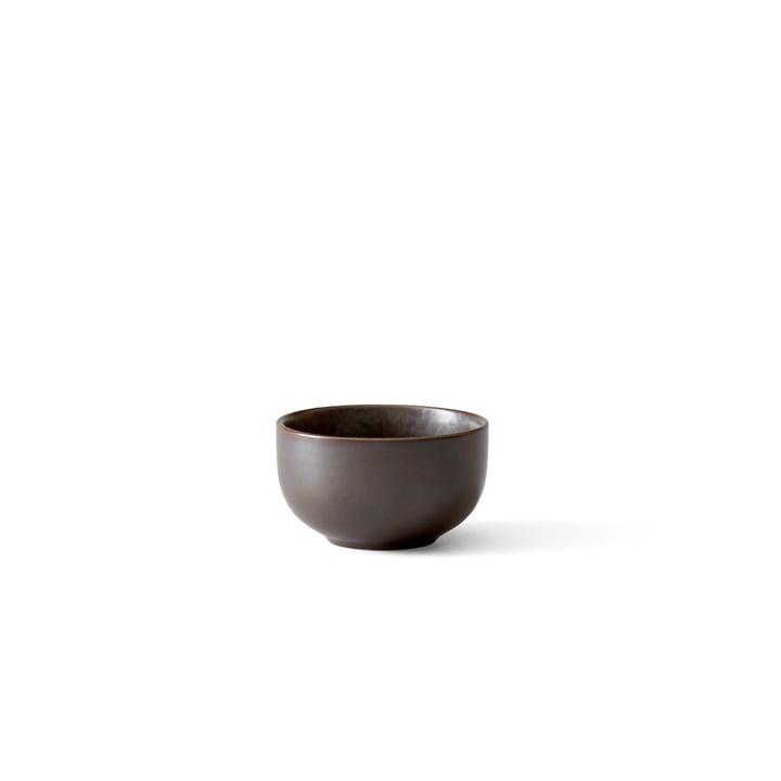 Menu - New Norm bowl Ø 7,5 cm, dark glazed