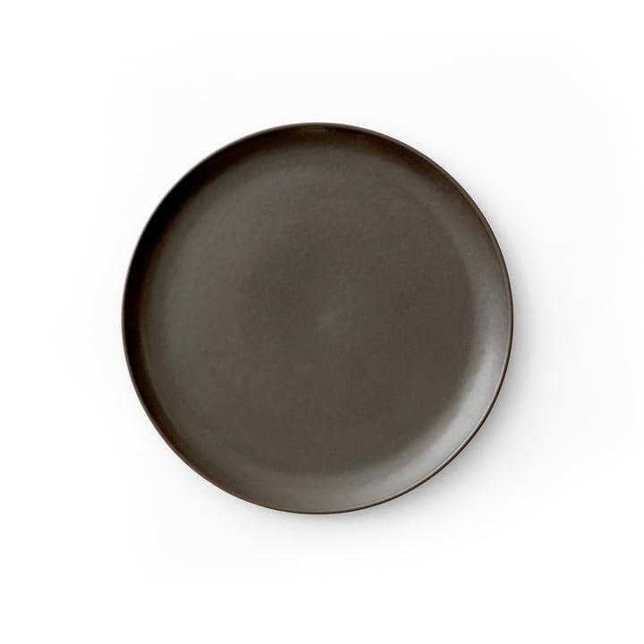 New Norm Side plate Ø 19 cm, dark glazed by Menu