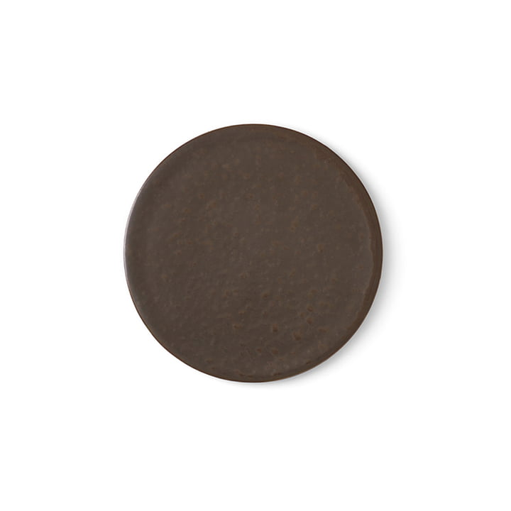 Menu - New Norm plate / lid Ø 1 3. 5 cm, dark glazed