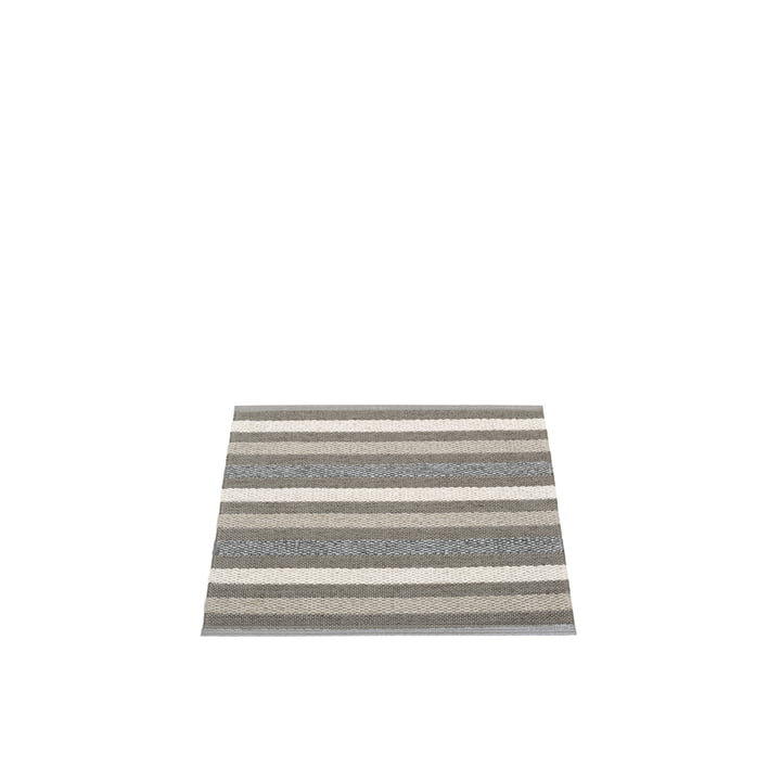 Grace carpet 70 x 60 cm from Pappelina in charcoal