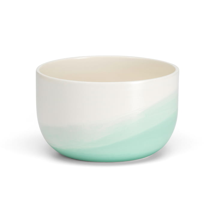 Herringbone bowl Ø 19,5 x H 12 cm from Vitra in mint
