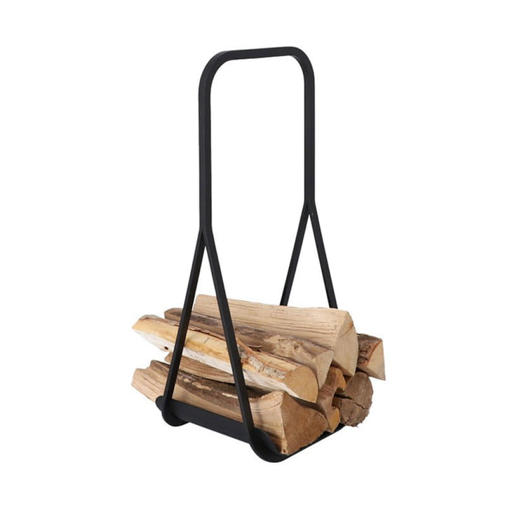 Log Carrier firewood carrier from Jan Kurtz in black