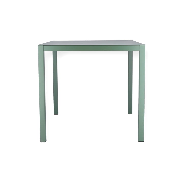 Aria table 80 x 80 cm from Fiam in sage