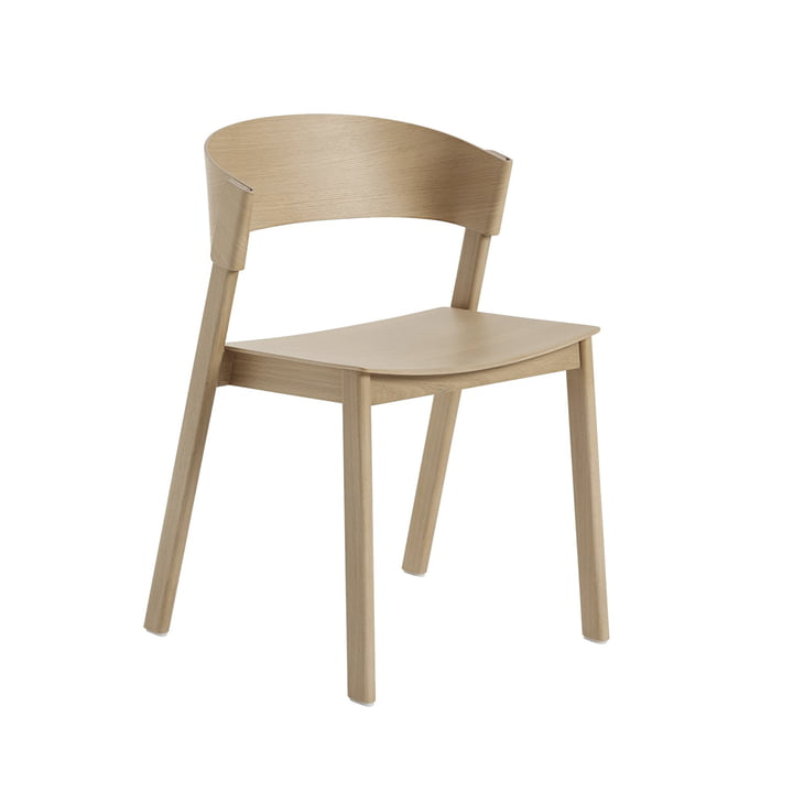 Cover Side Chair from Muuto in Oak