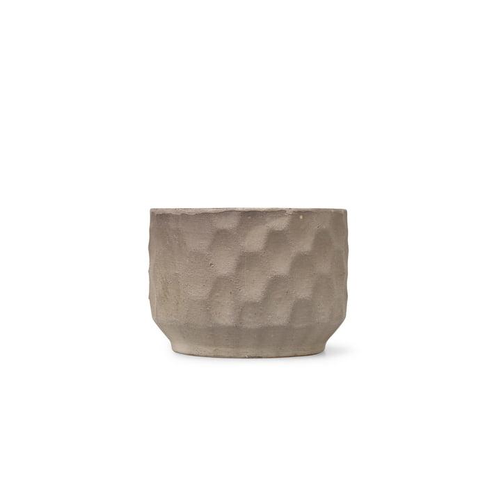 Large cachepot Ø 16,5 cm from Kähler Design in sand