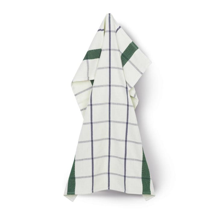 Terry tea towel 50 x 70 cm from Juna in light green