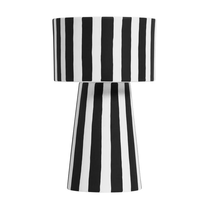 Toppu cachepot Ø 15 x H 24 cm from OYOY in black / white