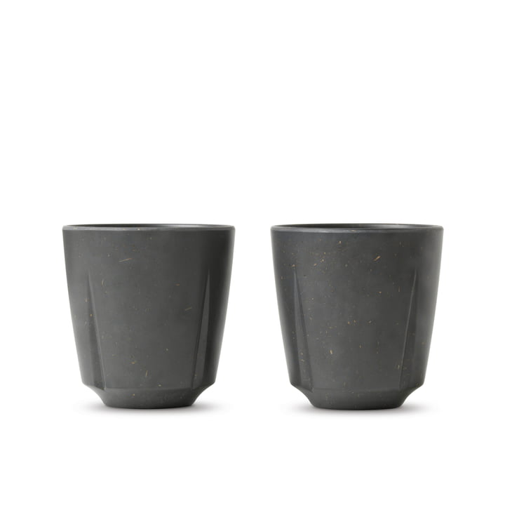 Grand Cru Take Drinking cup 32 cl from Rosendahl in dark grey (set of 2)