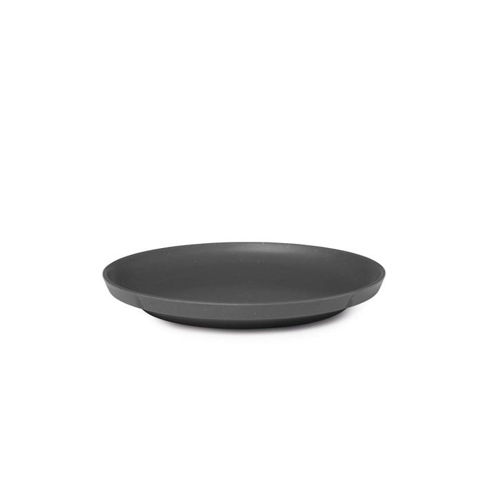 Grand Cru Take Plate Ø 19,5 cm from Rosendahl in dark grey (set of 2)