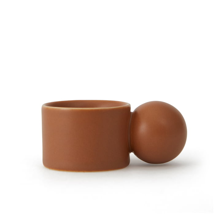 Inka Egg cup, caramel (set of 2) from OYOY