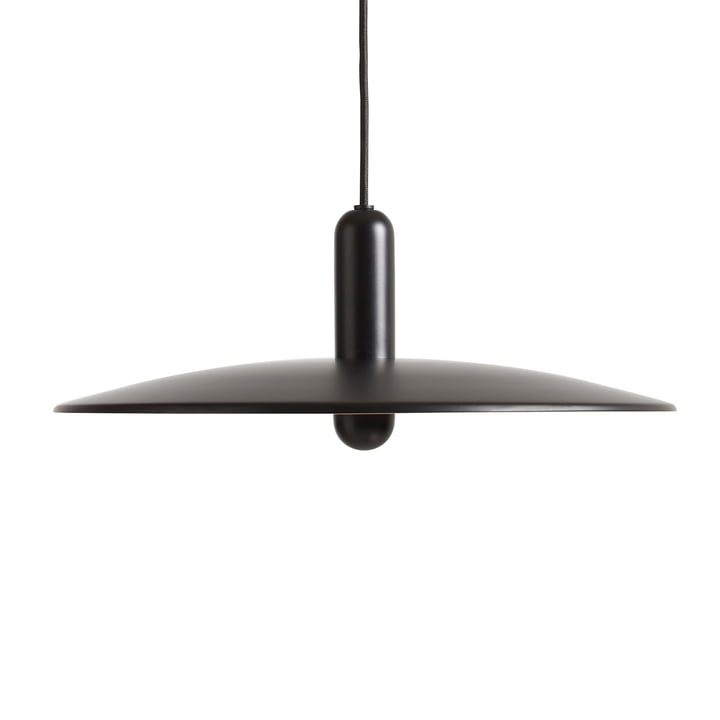 Lu pendant lamp Ø 45 cm large from Woud in black