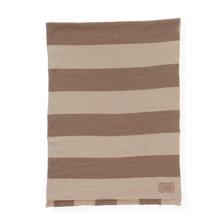 Sonno Woollen blanket 130 x 170 cm, Melange nude by OYOY