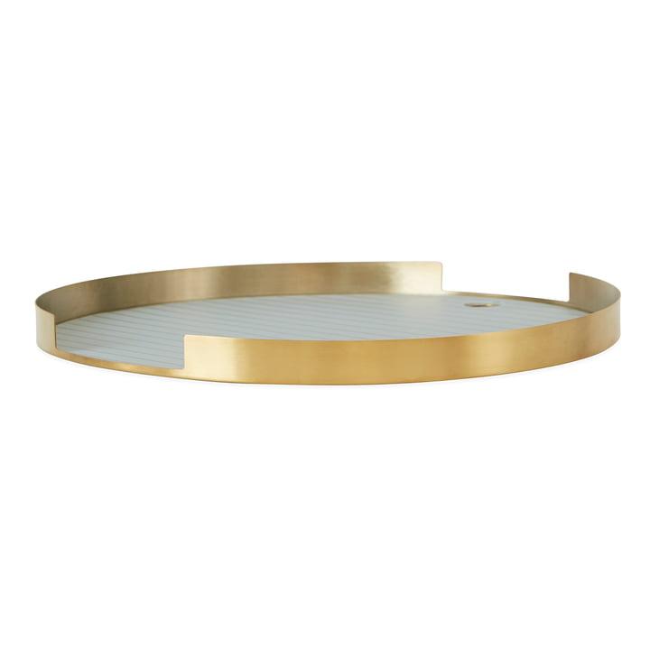 Oka tray Ø 32,5 cm, brass from OYOY