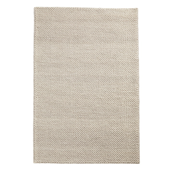 Tact carpet 170 x 240 cm from Woud in off white
