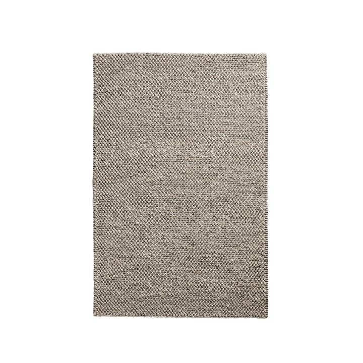 Tact carpet 90 x 140 cm from Woud in dark grey