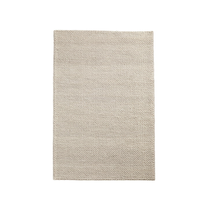 Tact carpet 90 x 140 cm from Woud in off white