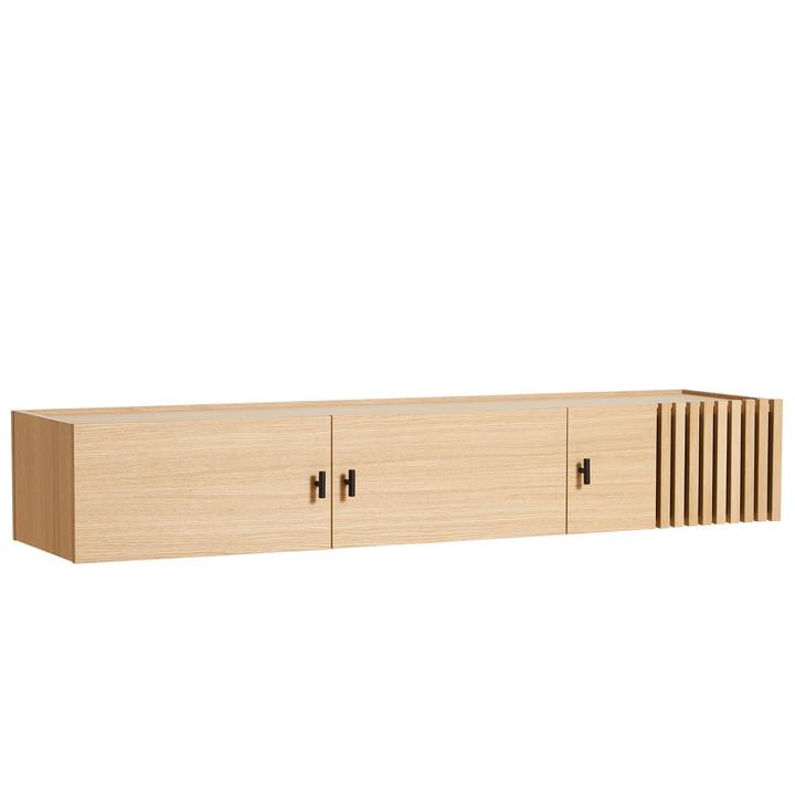 Array Sideboard 150 cm from Woud in oak (wall mounted)
