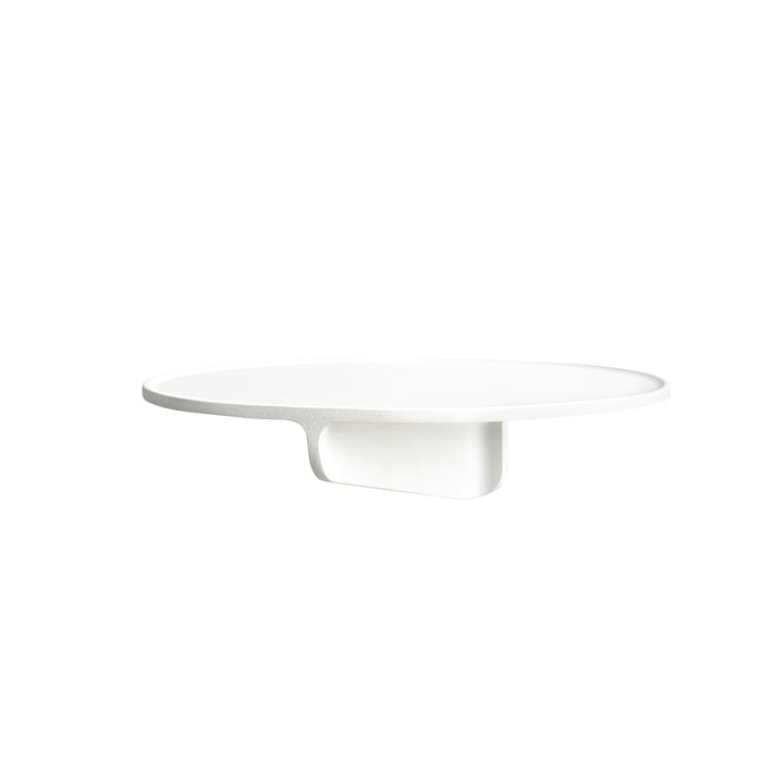Museum wall shelf from String in white