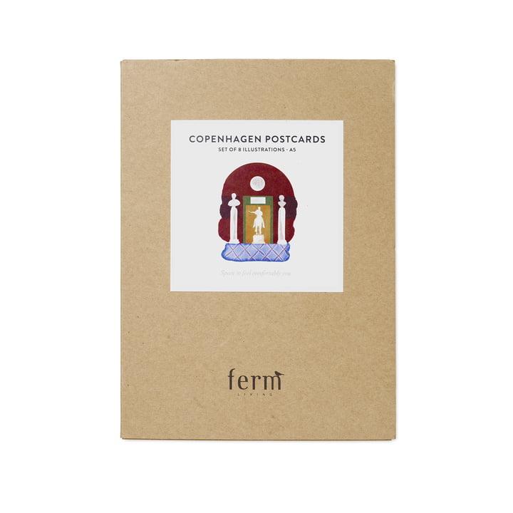 Postcards Copenhagen 8 pieces by ferm Living