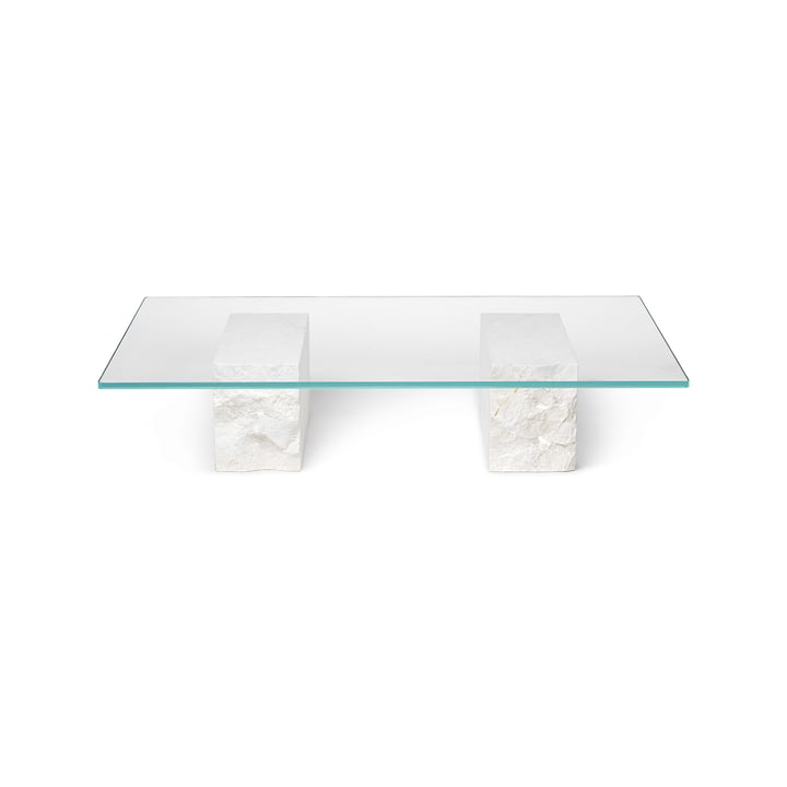 Mineral coffee table, Bianco Curia by ferm Living