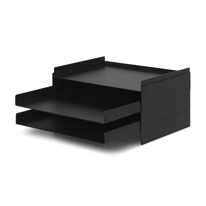 2 x 2 organizers from ferm Living in black