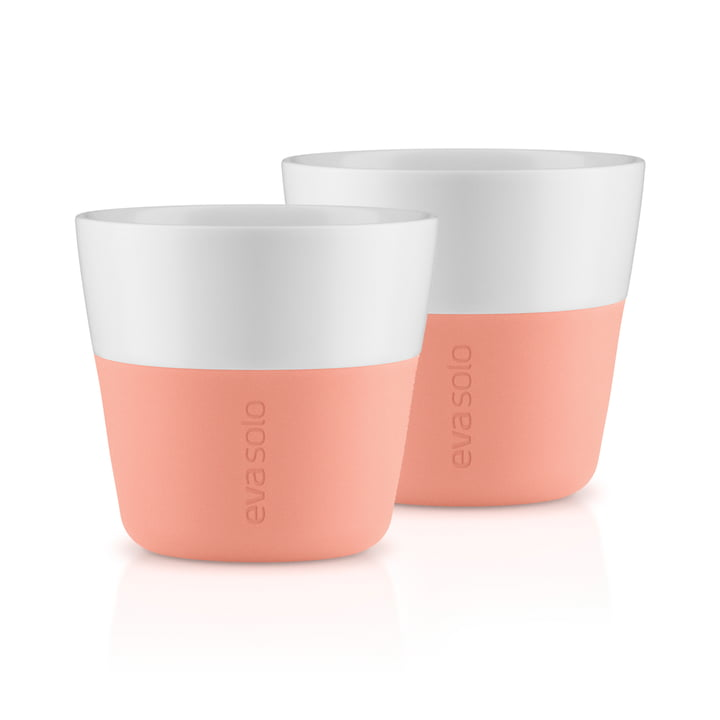 Caffé Lungo cups (set of 2) by Eva Solo in cantaloupe