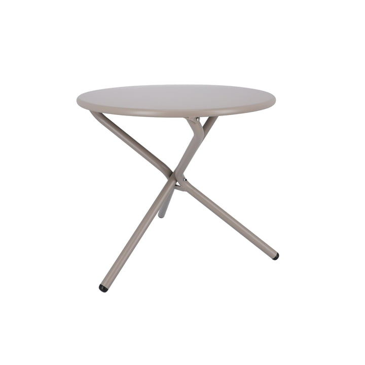 Tris side table Ø 53 cm from Fiam in taupe