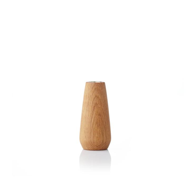 Torso Candlestick 12 cm from applicata oiled in oak