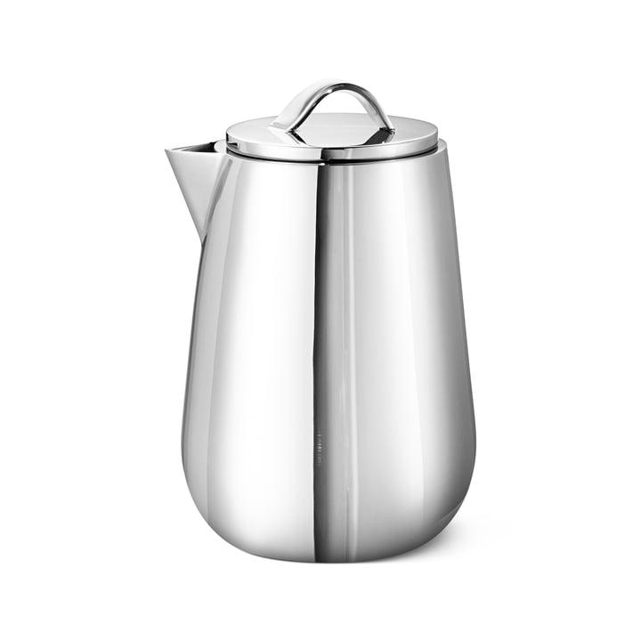 Helix Milk jug, stainless steel from Georg Jensen