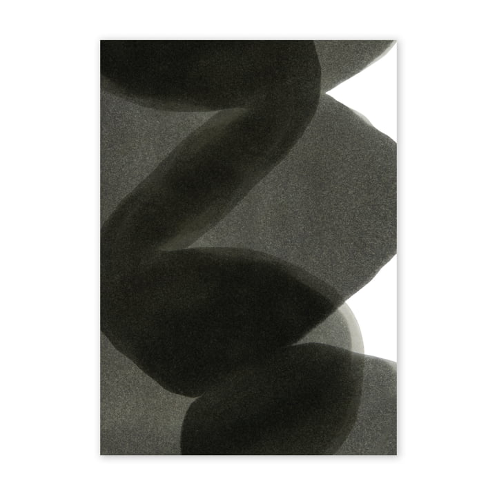 Enso Black II Poster, 50 x 70 cm from Paper Collective