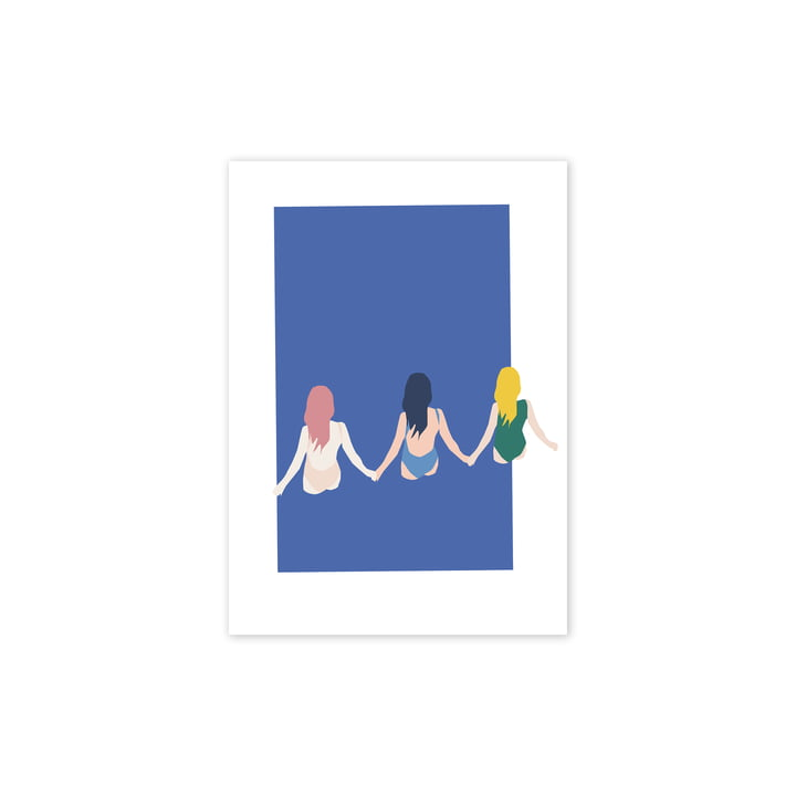 Girls Poster, 30 x 40 cm from Paper Collective