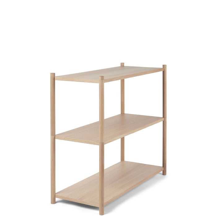 Sceene shelf unit A from Gejst in light oak