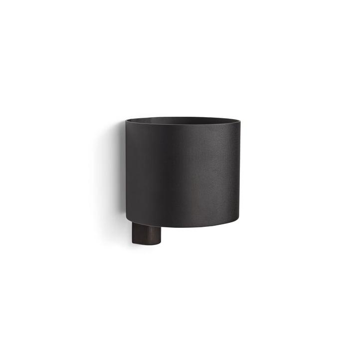 Kollage Flowerpot Ø 14 x H 12 cm from Gejst in black