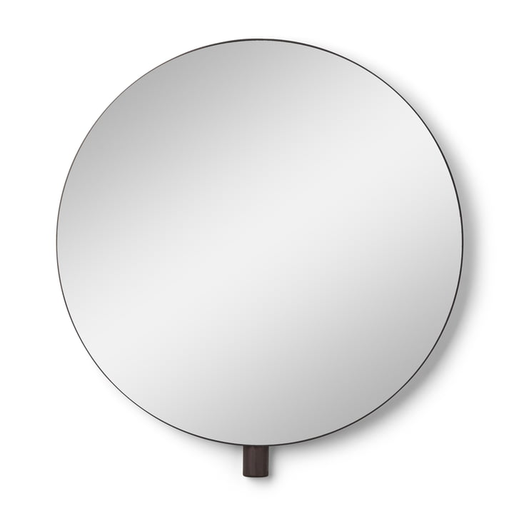 Kollage Wall mirror Ø 50 cm from Gejst in black