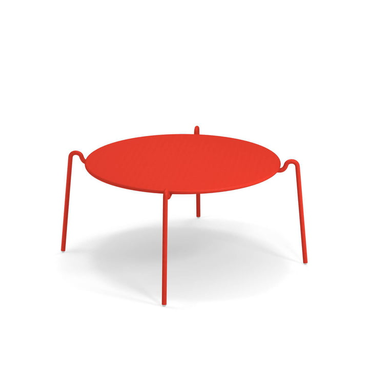 Rio R50 side table Ø 104 cm, scarlet red from Emu