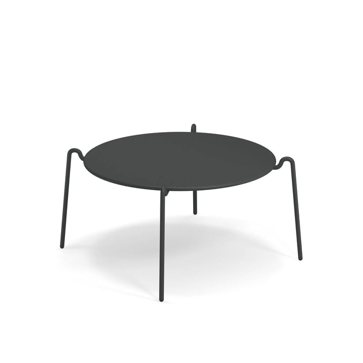Rio R50 side table Ø 104 cm, antique iron from Emu