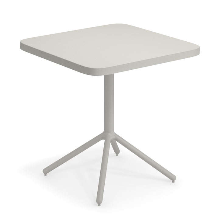 Grace Bistro table H 74 cm, 70 x 70 cm, cement grey (73) from Emu
