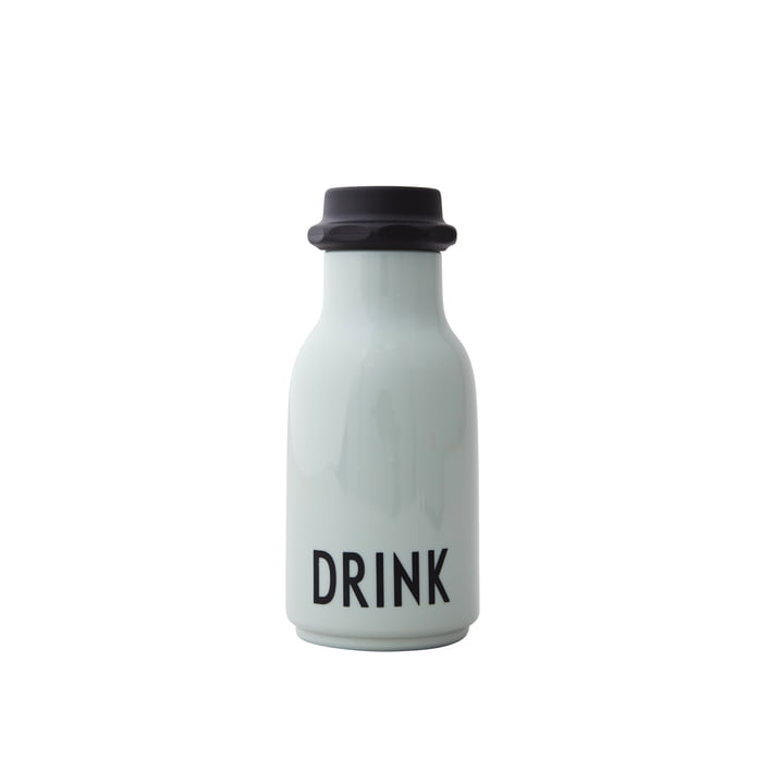 Kids water bottle 0,33 l, drink / green from Design Letters